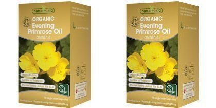 (2 PACK) - N/Aid Organic Evening Primrose Oil | 90s | 2 PACK - SUPER SAVER - SAVE MONEY by Natures Aid