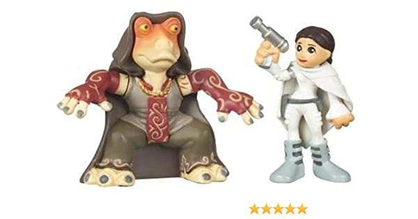 Star Wars Galactic Heroes Padme Amidala Hasbro 2008