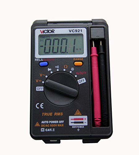 Victor VC921 3 3/4 Pocket Digital Multimeter Mini Tiny Small