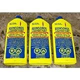 Ronsonol Lighter Fluid Bottles - 8 Oz, 3 in Pack