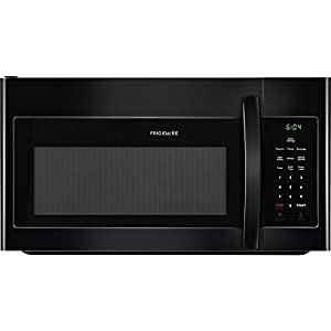 Frigidaire FFMV1645TB 30 Inch Over the Range Microwave Oven with 1.6 cu. ft. Capacity, 1000 Cooking Watts in Black
