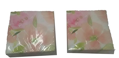 floral beverage napkins - 8
