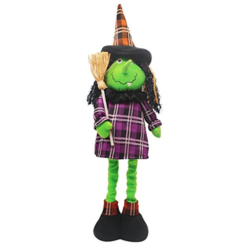 Witch Halloween Doll (WANYITONG Halloween Decorations Ghost Witch Adjustable Doll Decorative Accessories)