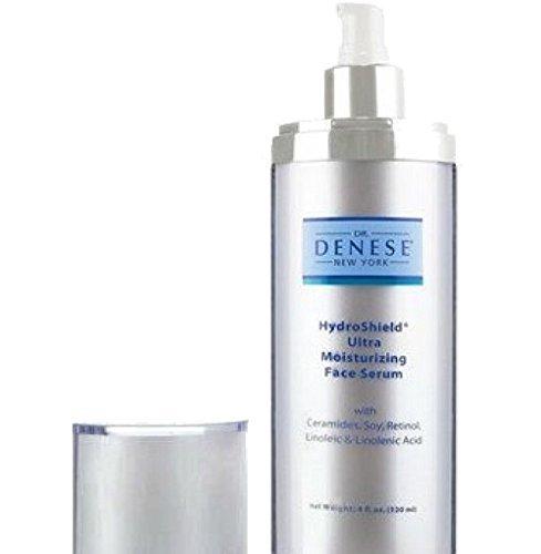 Dr. Denese Hydroshield Ultra Moisturizing Face Serum, LUXURY SIZE 4 oz by Dr. Denese