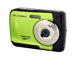 Bell+Howell Splash WP10-G 16.0 Megapixel Waterproof Digital Camera with 2.4-Inch LCD & HD Video (Green)