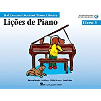 Piano Lessons, Book 1 - Portuguese Edition: Hal Leonard Student Piano Library