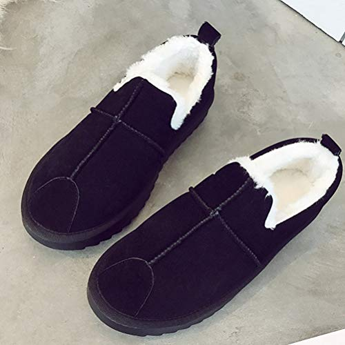 Donne Stivali Caldo Piatte Inverno Casuale Neve B Scarpe O8qCa