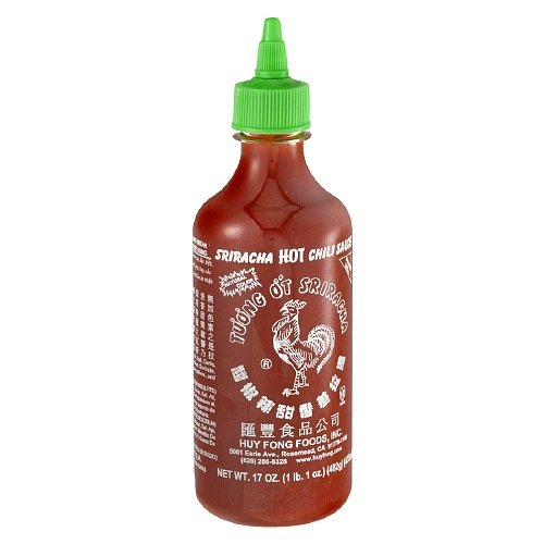 Huy Fong Sriracha Hot Chili Sauce Bottle-17 Oz-2 Pack