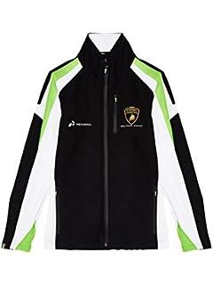 Automobili Lamborghini Squadra Corse Mens Softshell Jacket, Black