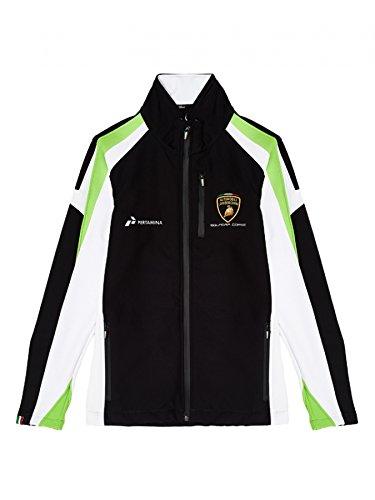 Automobili Lamborghini Squadra Corse Men S Softshell Jacket Black
