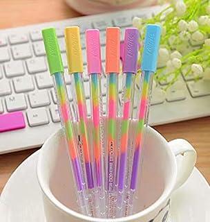 6 Piezas Forma de Píldora Bolígrafos Mini Cara Sonriente ...