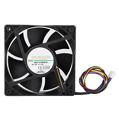 - fosa PWM Cooling Fan, DC12V 1.6A 12CM Temperature Control Fast Heat Dissipation Quiet Cooling Case Fan, 4000RPM 154.5CFM Cooler Fan for DELL Precision 390 Workstation CPU Cooling and Other Equipment