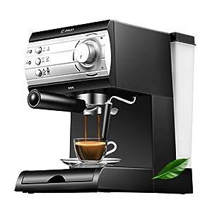 KOUDAG Macchina caffè Espressocaffè Espresso Tazzeda caff蠠Macchina del caffè elettrica Macchina per caffè Espresso PortatilemontalatteEspresso Macchina cafee