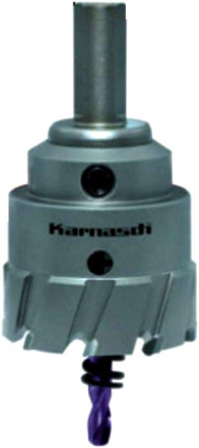 Karnasch POWER-MAX Hartmetall-best/ückte Lochs/äge Zentrierbohrer und Auswurffeder 2011300505 Durchmesser 50,5 mm Komplett mit Schaft Nutzl/änge 30 mm 1 St/ück