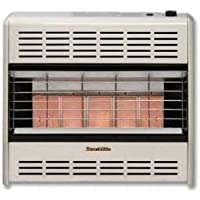 HeathRite Vent-Free Radiant Heater LP 25000 BTU, Thermostatic Control