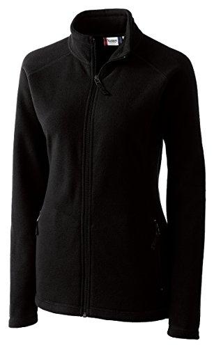 Clique LQO00019 Womens Summit Lady Full Zip Microfleece, (Life Black Full Zip Jacket)