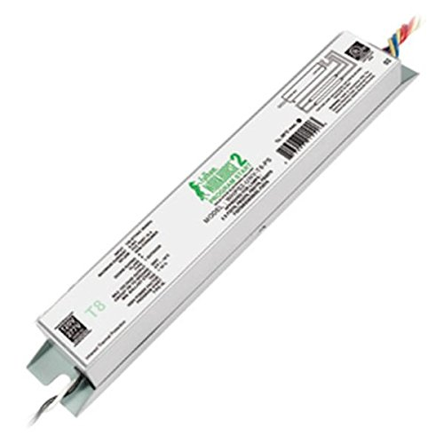 Fulham Lighting WHPS2-UNV-T8-PS Workhorse 2 Lamp T8-Universal Voltage-Program Start (PS) -Linear Model Electronic Ballast by Fulham Lighting (Image #1)