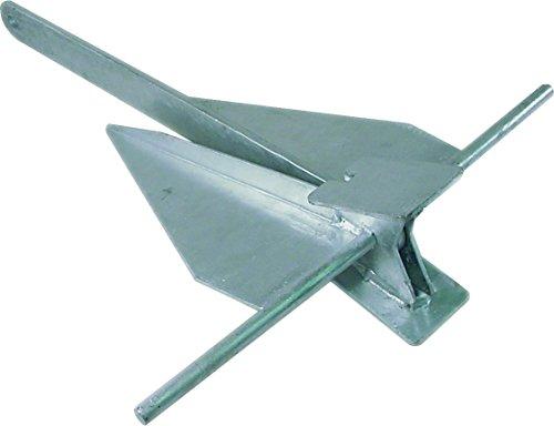Penetrating Fluke Anchor (SeaSense #4 Penetrating Galvanized Fluke Style Anchor)