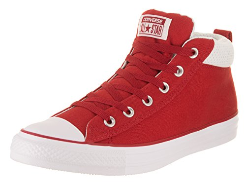 Converse Unisex Chuck Taylor All Star Street, Gym RED/Gym RED/White, 5 M US