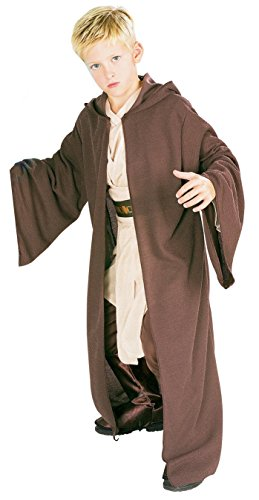 [Rubies Star Wars Deluxe Hooded Jedi Robe, Small] (Cheap Hallowen Costumes)