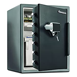 7. Sentry Safe: Alarm Fire/Water Safe Model SFW205UPC