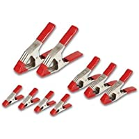 Steel Spring Clamp Set (9-piece) by Bessey