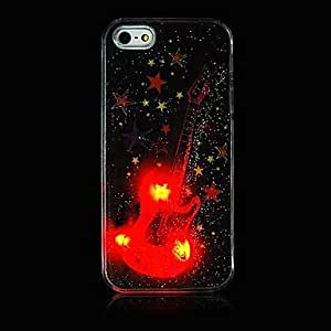LCJ The Stars Around Guitar Grind Arenaceous Calls with Flash Back Case for iPhone 5/5s(Assorted Color)