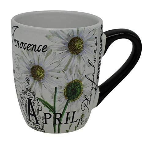 GiftCraft Ceramic Month of April Mug]()