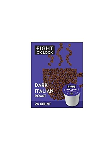 Eight O'Clock Coffee Dark Italian Roast K-Cups - 120 Count Box