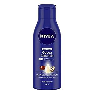 NIVEA Body Lotion, Oil in Lotion Cocoa Nourish
