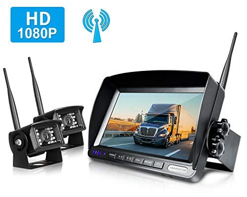 ZEROXCLUB Wireless Digital Rear View Camera Kit