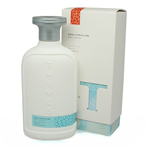 Thymes - Aqua Coralline Body Lotion - Moisturizing Beach Scented Lotion with Sea Buckthorn - 9.25 oz