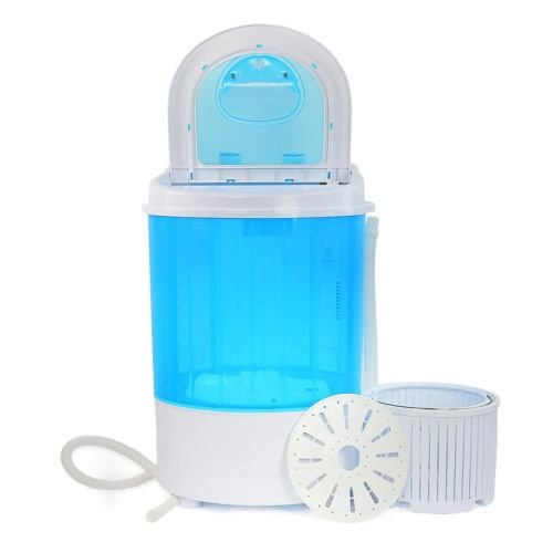 6.6 Lbs Capacity Portable Washing Machine Spin Dryer Compact Laundry Washer