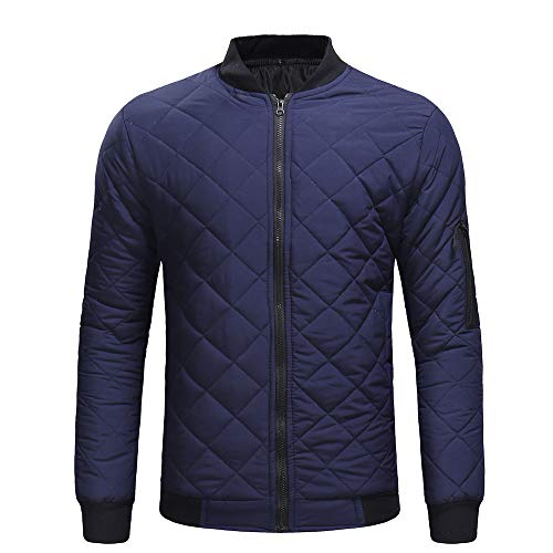 Jacket Blouse Men koiu❀❀Jackets Top Coat Fit Coat Warm Men Give for Slim Blue Thick Tommy Casual Winter Hilfiger Outerwear w6xEn4TqR
