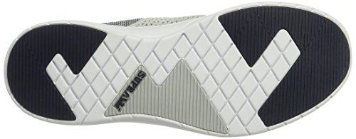 Supra Scissor Skate Schuh Hellgrau / Navy - Weiß