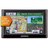 Garmin nüvi 55LM GPS Navigator System with Spoken Turn-By-Turn Directions, Preloaded Maps and Speed Limit Displays...
