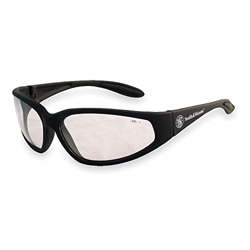 Smith & Wesson Clear Safety Glasses, Scratch-Resistant, Wraparound