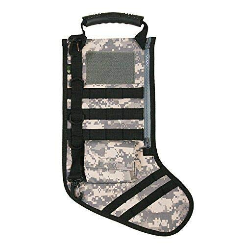 Lonestar Wholesalers Tactical Camo Christmas Stocking Perfect Stocking Stuffer (Army Digital) from Lonestar Wholesalers