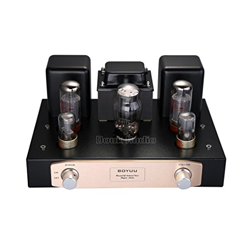Nobsound EL34 Pure Vacuum Tube Amplifier Single-Ended Class A HiFi Stereo Power Amp 12W+12W (Assembled) ()