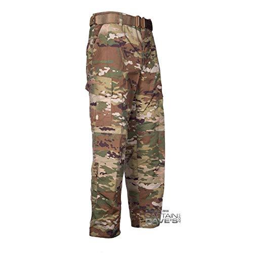 - Authentic Army Combat Uniform ACU Military Trousers, OCP Camo, Large-Short