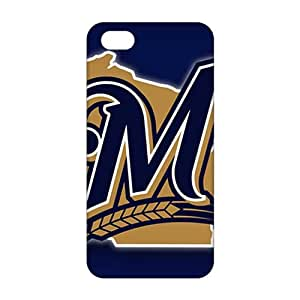 Fortune Milwaukee Brewers Logo 3D Phone Case for iPhone 5s
