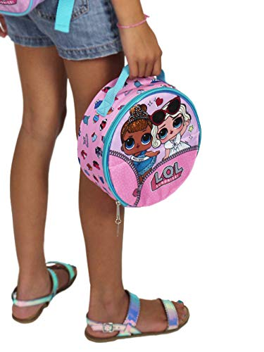 Price comparison product image L.O.L Surprise! Girls Insulated School Lunch Box (One Size,  Pink / Multi)