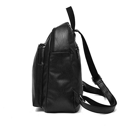 semplice viaggio Borsa da a borsa nero tracolla nero alla moda zaino Sprnb femminile vzvqar