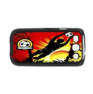 Soccer At Sunset Art Hard Snap on Phone Case (Galaxy s3 III)