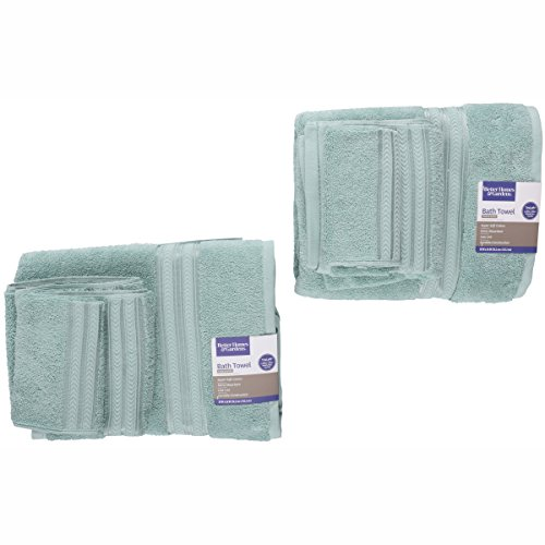 Better Homes and Gardens Thick and Plush Solid Bath Collection,6-Piece Set,Aquifer from Better Homes & Gardens