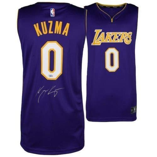 los angeles d9cc1 732d4 Kyle Kuzma Autographed Signed Memorabilia Purple Los Angeles ...