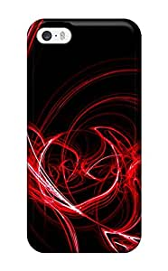 EVMiOCF21522ORDRl Abstract Red Awesome High Quality Iphone 5/5s Case Skin