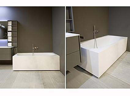 Vasca Da Bagno Rettangolare : Arab blck wht la vasca da bagno freestanding di aquatica in