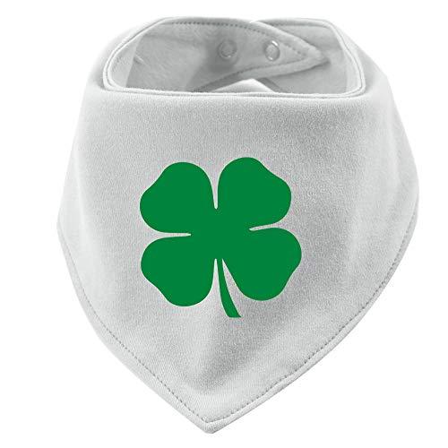(Irish Shamrock Baby Bib Bandana)