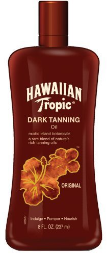 Hawaiian Tropic Tanning Fluid Ounce
